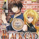 DVD ANIME BLACK CAT Burakku Kyatto Episode 1-24End