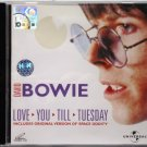 DAVID BOWIE Love You Till Tuesday VCD Video 2001 Universal Malaysia Out of Print