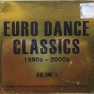 EURO DANCE CLASSICS 1990-2000 Club Music 2CD Golden Hit Scooter DJ Bobo Fragma