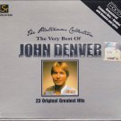 JOHN DENVER Platinum Collection Best Original Greatest Hits CD 24 Bit Mastering