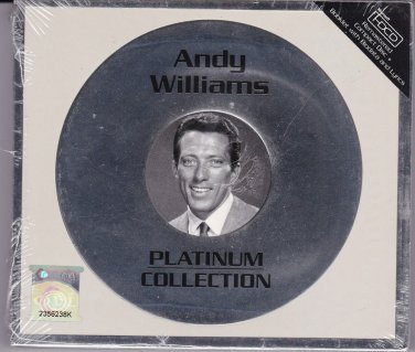ANDY WILLIAMS Platinum Collection Greatest Hits CD Biography Lyric Booklet HDCD