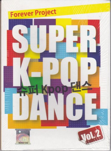 Super K-Pop Dance Vol.2 Compilation 2CD 30 Tracks Free Shipping Kpop Korea Pop