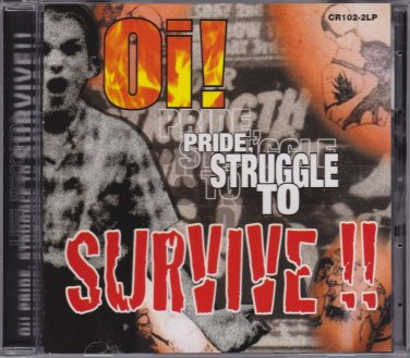 CD A.C.A.B. Roots N Boots The Maniacs The Official Oi Pride Struggle To Survive