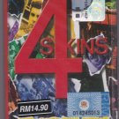 CASSETTE NEW THE 4 SKINS One Law For Them Punk Rock Oi Music Malaysia Release