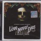 ANDREW LLOYD WEBBER Love Never Dies Phantom 2CD Musical NEW Malaysia Edition