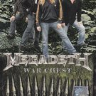 MEGADETH War Chest Live In Hammersmith Odean London 1992 DVD NTSC PAL Region All