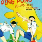 DVD ANIME PING PONG The Animation Tabel Tennis Vol.1-11End Region All Eng Sub