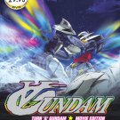 DVD ANIME TURN A GUNDAM 2 Movie Earth Light + Moonlight Butterfly Region All