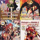 DVD ANIME SHAKUGAN NO SHANA Season 1-3 Vol.1-72End + Complete OVA Region All