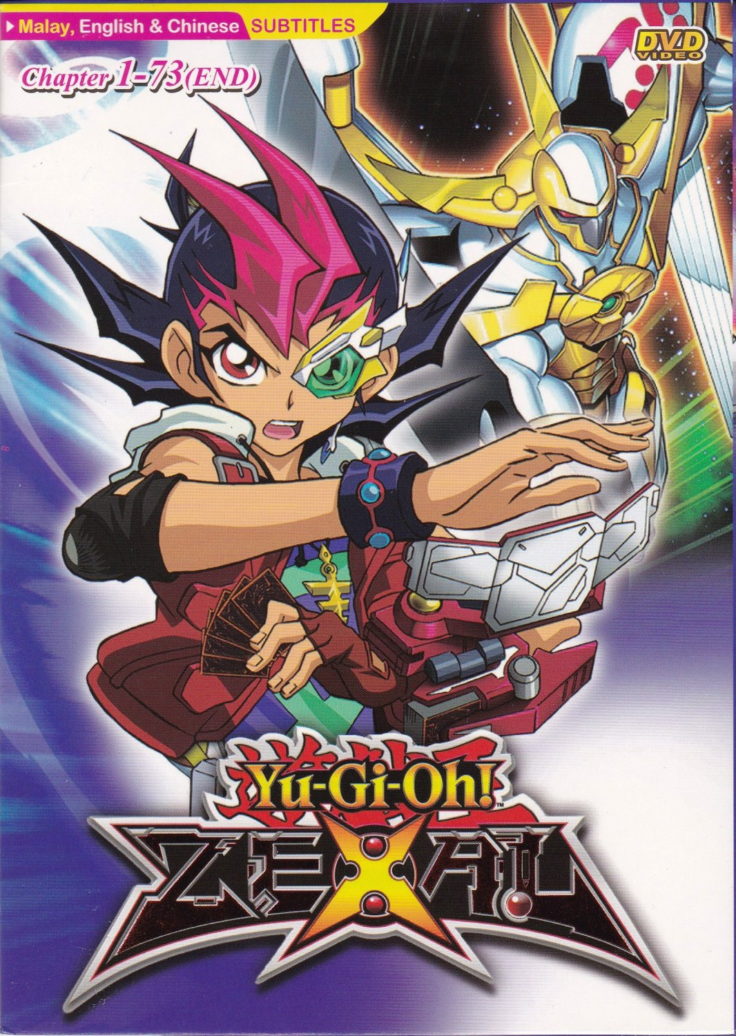 Dvd anime yu gi oh zexal vol 1 73 complete tv series region all free shipping