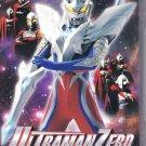 DVD ULTRAMAN ZERO Collection Side Story + ULTRAMAN SAGA Movie Region 0 English