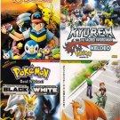 DVD ANIME POKEMON 16 + 4 Movies Collection Pocket Monster Pikachu Region All