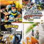 DVD ANIME POKEMON 16 + 4 Movies Collection Pocket Monster Pikachu Region All