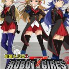 DVD ANIME ROBOT GIRLS Z Vol.1-9End Region All Free Shipping English Subtitle