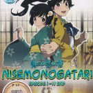 DVD ANIME NISEMONOGATARI Vol.1-11End Region All Free Shipping English Sub