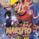 DVD ANIME NARUTO Season 4-5 Vol.157-200 Box Set 44 Episode Region All Free Ship