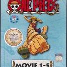 DVD ANIME ONE PIECE The Movie 1-5 Box Set Region All Free Shipping Wan Pisu