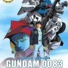 DVD ANIME MOBILE SUIT GUNDAM 0083 Movie The Last Blitz of Zeon English Sub