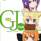DVD JAPANESE ANIME GJ Club Vol.1-12End GJ-Bu English Sub Region All