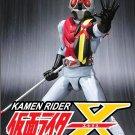 DVD KAMEN MASKED RIDER X Vol.1-35End English Sub Region All Super Sentai