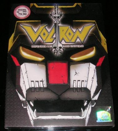 DVD ANIME VOLTRON Defender of The Universe Vol.72End English Language Region All
