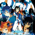 DVD JAPANESE ANIME CAPTAIN EARTH VOL.1-25End English Sub Region All Free Ship