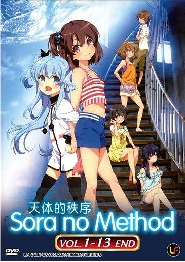 DVD JAPANESE ANIME SORA NO METHOD Vol.1-13End Celestial Method English Sub
