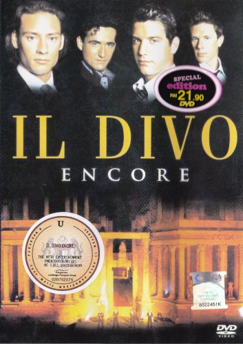 IL DIVO Encore Live In Concert DVD NEW NTSC Region All Free Shipping