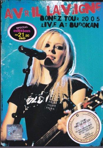 AVRIL LAVIGNE Bonez Tour 2005 Live At Budokan Japan DVD NEW NTSC Region 2 RARE