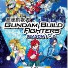 DVD JAPANESE ANIME Gundam Build Fighters Season 1-2 Vol.1-53End English Sub