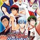 DVD ANIME Kuroko's Basketball Season 3 Vol.1-26End Kuroko no Basuke English Sub