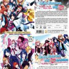 DVD JAPAN ANIME Uta no Prince-sama Maji Love 1000% 2000% Revolutions English Sub