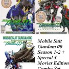 DVD ANIME MOBILE SUIT GUNDAM 00 Season 1-2 + Special OVA Trilogy English Sub