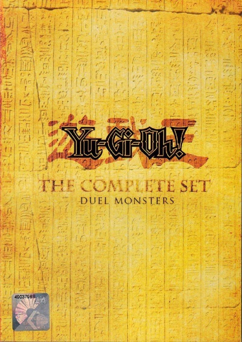 DVD ANIME YU-GI-OH! DUEL MONSTER Season 1-5 Complete Box Set English Audio