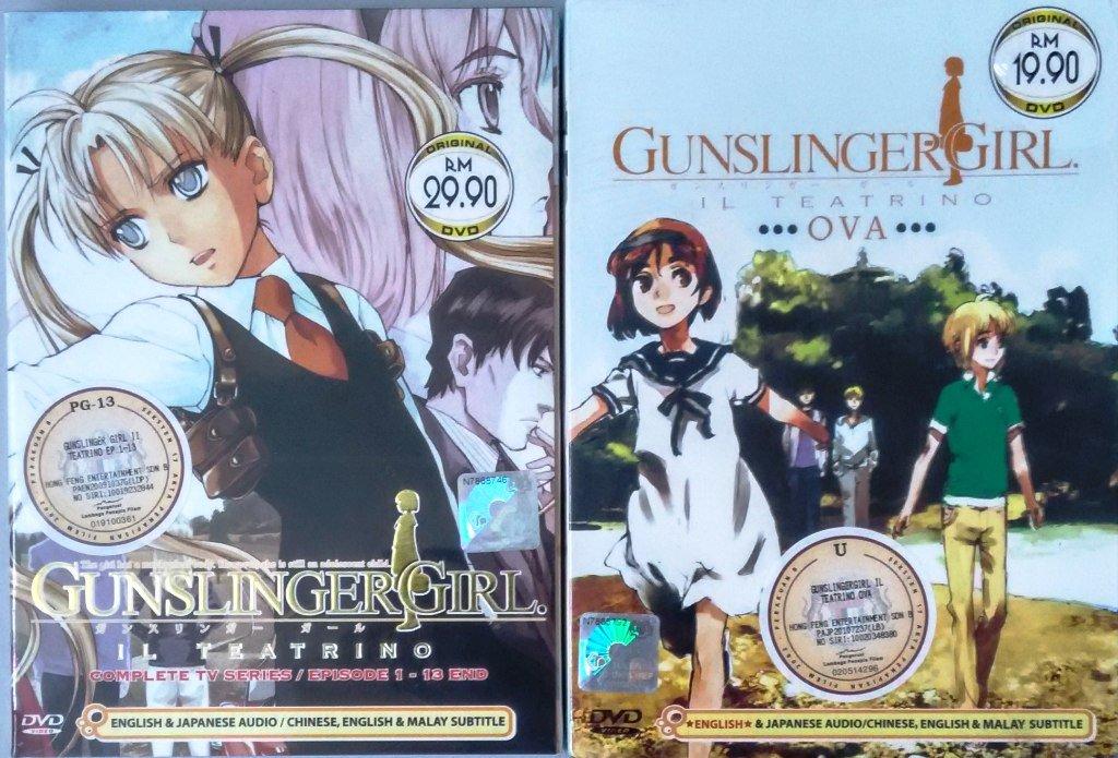 DVD ANIME Gunslinger Girl IL Teatrino Complete TV Series + OVA English Audio