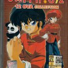 DVD JAPANESE ANIME RANMA 1/2 Complete 12 OVA Collection Region All English Audio