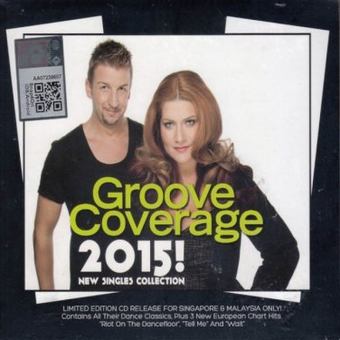 GROOVE COVERAGE 2015 New Singles Collection 3CD NEW Malaysia Singapore Release