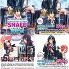 DVD JAPANESE ANIME MY TEEN ROMANTIC COMEDY SNAFU Season 1-2 + OVA Combo Set