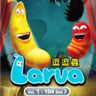 DVD KOREA ANIME CARTOON LARVA Complete TV Series Vol.1-104End Region All