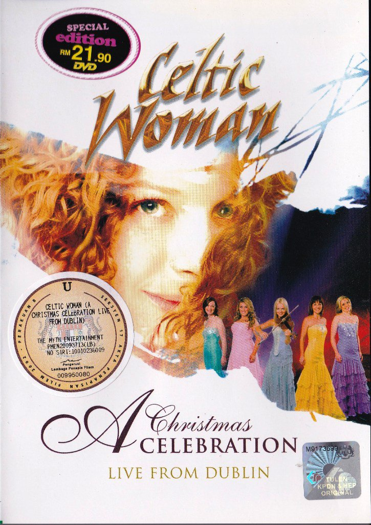 CELTIC WOMAN A Christmas Celebration Live From Dublin DVD NEW NTSC ...
