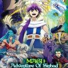 DVD ANIME Magi Adventure of Sinbad OVA 1-5 The Labyrinth of Magic English Sub