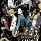 DVD JAPANESE ANIME Durarara!!x2 Shou Watashi no Kokoro wa Nabe Moyou DRRR!!