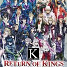 DVD JAPANESE ANIME K The Animation Return of Kings Vol.1-13End English Sub