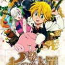 DVD ANIME The Seven Deadly Sins Season 1-2 + OVA Nanatsu no Taizai English Audio