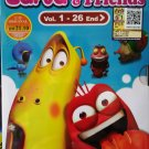 DVD KOREAN ANIME CARTOON Larva And Friends Vol.1-26End Region All