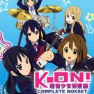 DVD JAPANESE ANIME K-ON! Season 1-2 + The Movie + 5 OVA English Sub KEION
