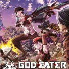 DVD JAPANESE ANIME God Eater Vol.1-12End English Sub Region All