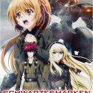 DVD ANIME Schwarzesmarken V.1-12End Muv-Luv Alternative Total Eclipse Eng Sub