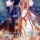 DVD ANIME Sword Art Online SOA Season 1-2 + Extra Edition+ Offline English Audio