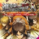 DVD ANIME Attack On Titan TV 1-25End English Dub + 2 Movie 5 OAD 9 Extra Eng Sub